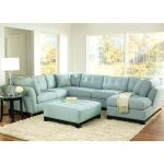 Astonishing Blue Sectional