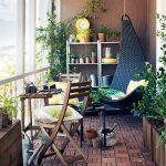 Balcony Decorating Ideas with Green