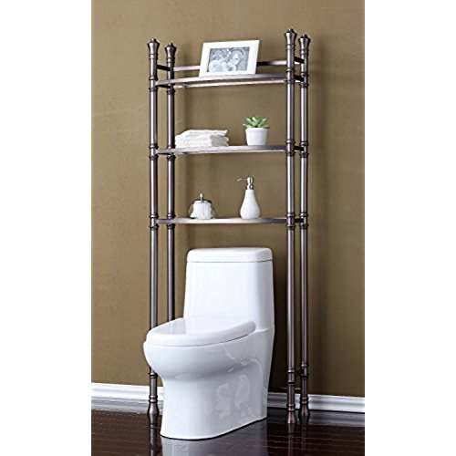 Bathroom Etagere in Good Position