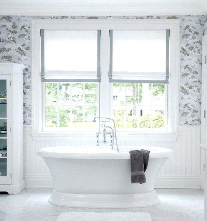 Bathroom Window Curtains Selections