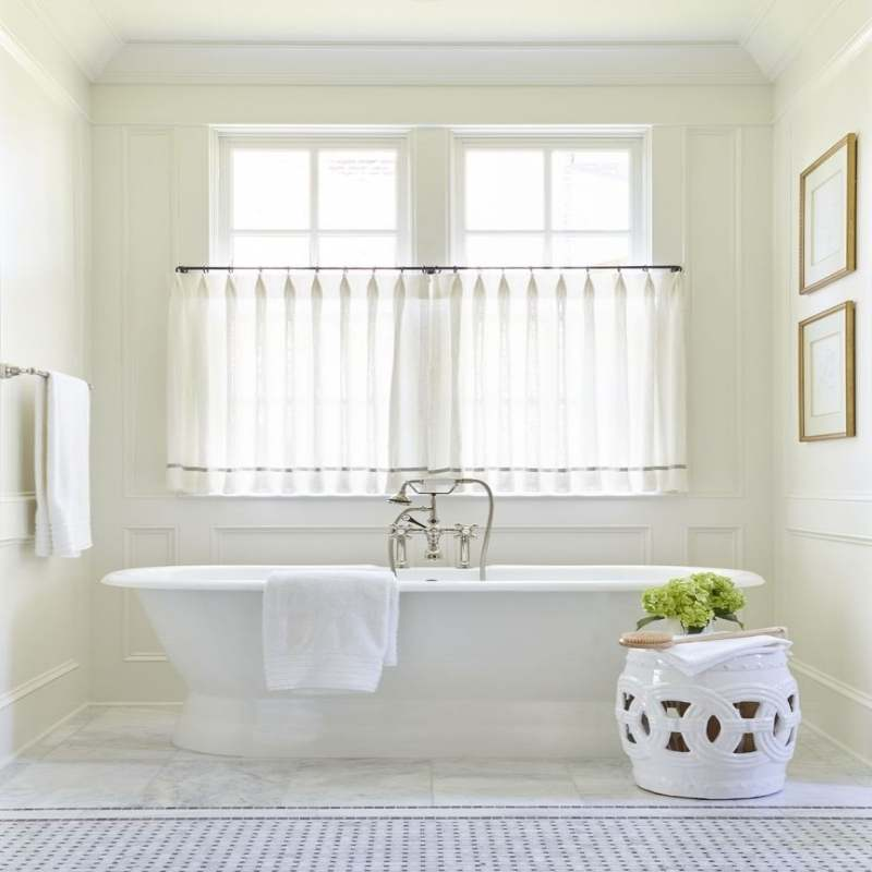 Bathroom Window Curtains Selections Looksbetternow