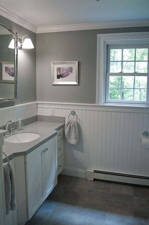 Beadboard Bathroom for Creating the Great Designs