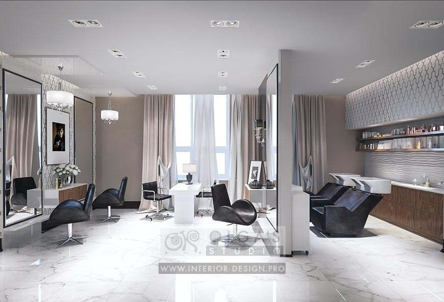 Beauty Salon Decorating Ideas Interior Design