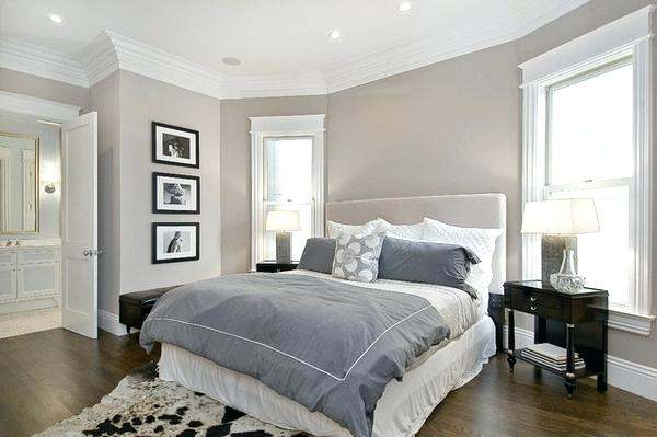 Bedroom Decorating with Color Combination