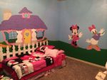 Bedroom With Minnie Mouse Character