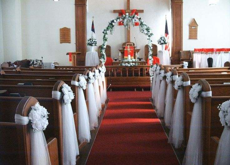 Church Decoration Ideas for Wedding - LooksBetterNow