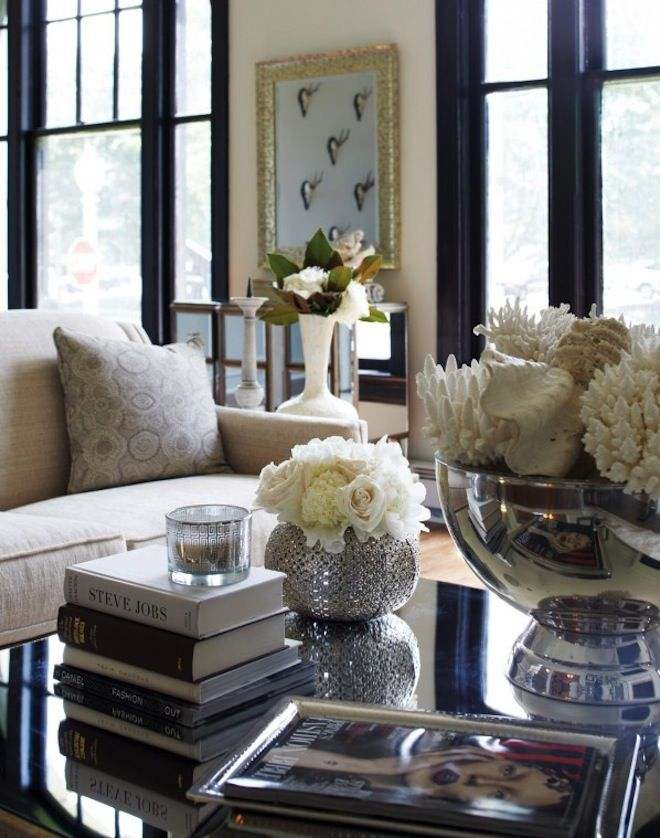 Coffee Table Decorating Ideas with Accessories