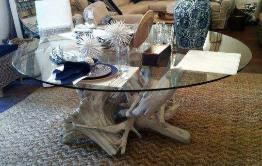 Decorating the Room around the Driftwood Coffee Table