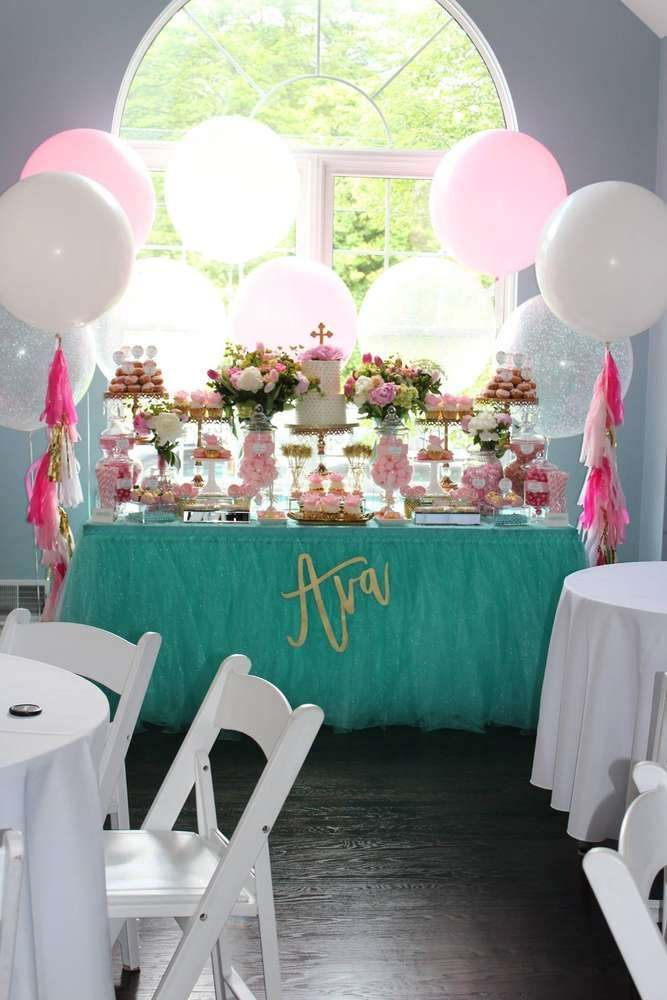 First Communion Decorations with More Details You Might Miss ... on