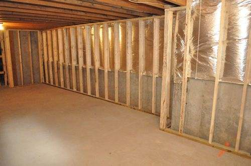Framing Basement Walls How To