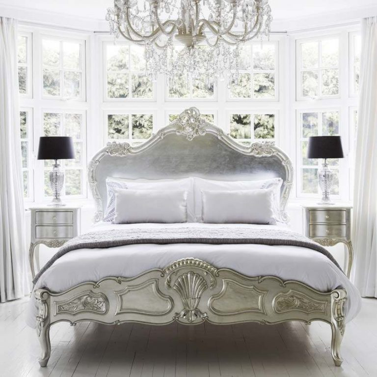 French Bedroom Decorating Ideas, the Luxury from the Bed
