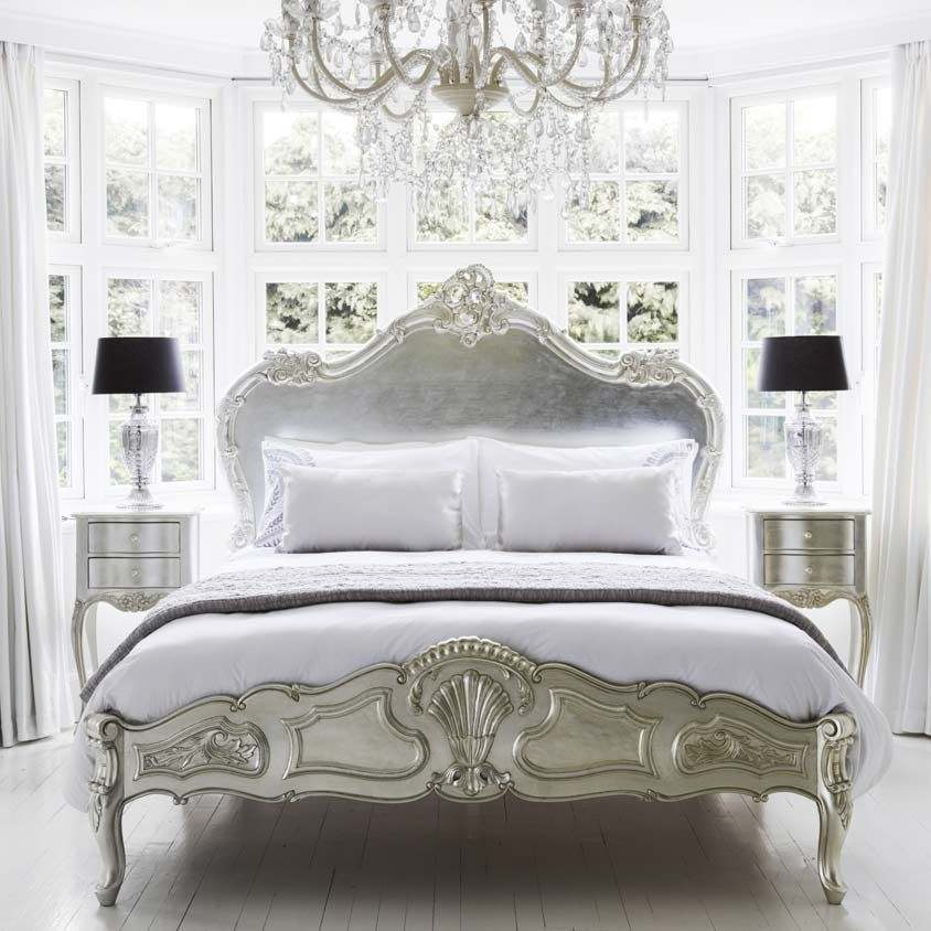 French Bedroom Decorating Ideas The Luxury From The Bed