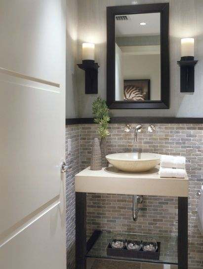 Functional Half Bathroom Ideas