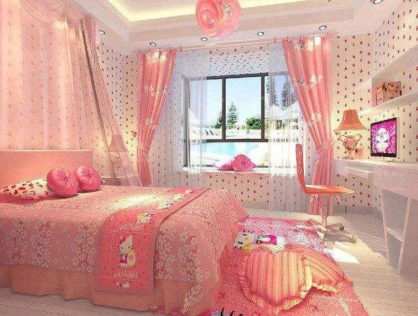 Hello Kitty Bedroom Decor Ideas For Girls Room