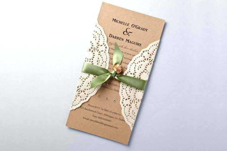 Homemade Wedding Invitation Ideas, Depending On Your Creativity