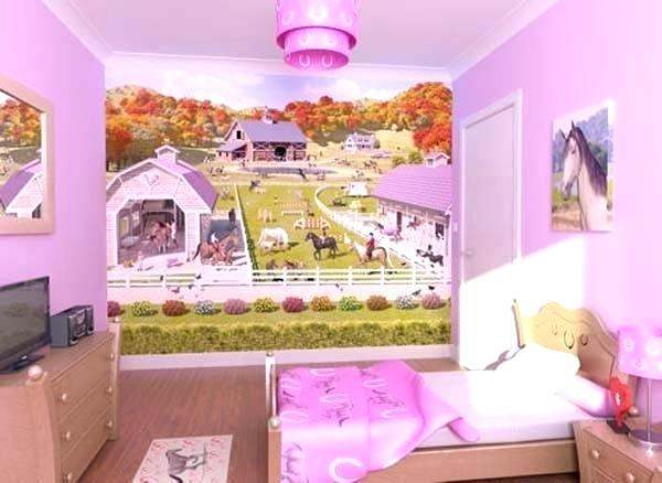 Horse Bedroom Decor Ideas for the Little Girls Bedroom
