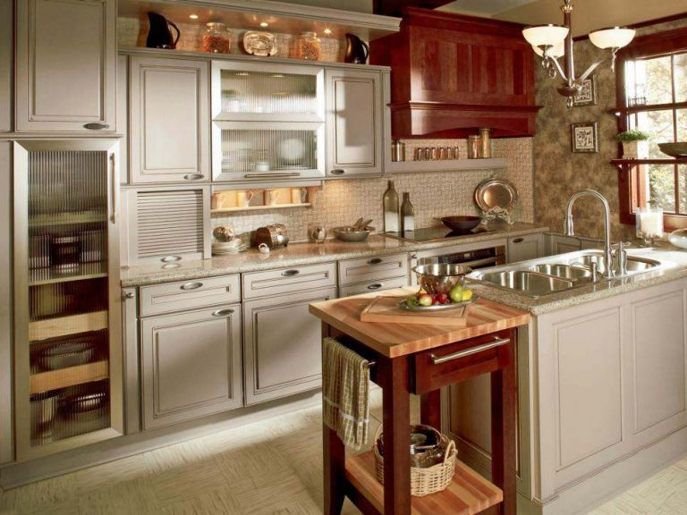 Kitchen Cabinet Design Make the Kitchen Looks Nicer