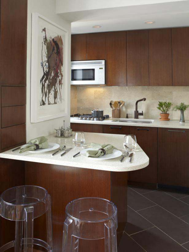 Kitchen Designs for a Limited Kitchen Space